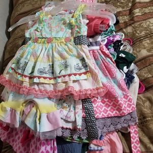 Girls clothes all sizes and seasons- nb-5t